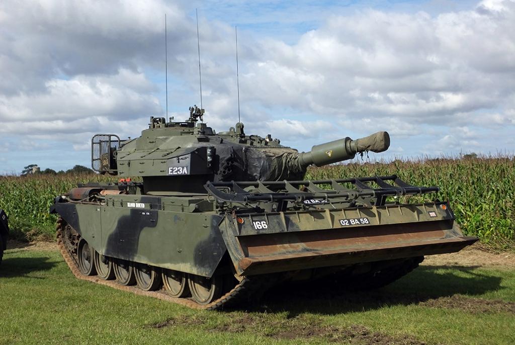 Centurion Mk.5 AVRE 02BA58 ''Blood Hound''
