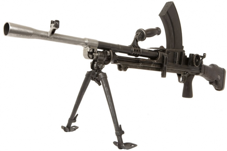 BREN LIGHT MACHINE GUN – Norfolk Tank Museum