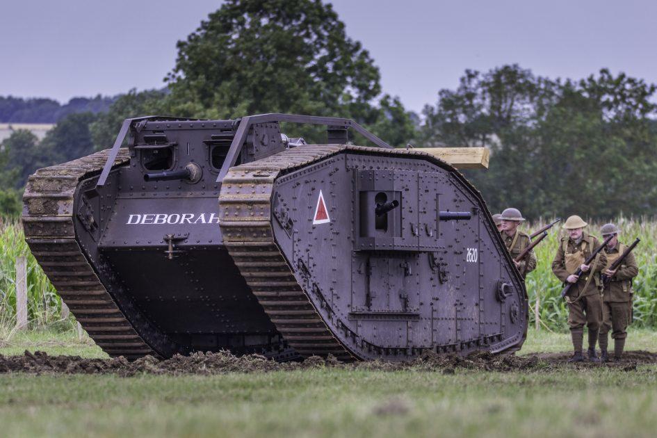 Mk IV Tank – Deborah II – Norfolk Tank Museum